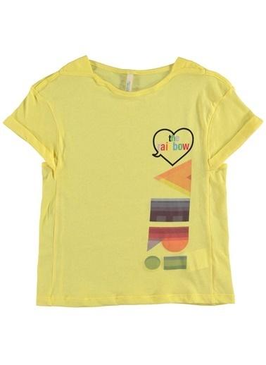 012 Benetton Tişört Sarı